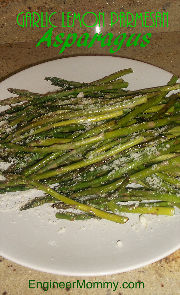 Garlic Lemon Asparagus Recipe
