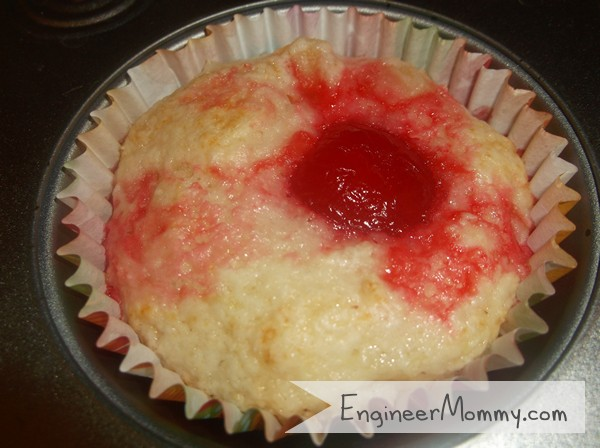 Cherry Pineapple Cupcakes