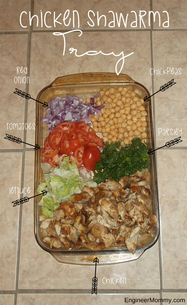 Chicken Shawarma Tray