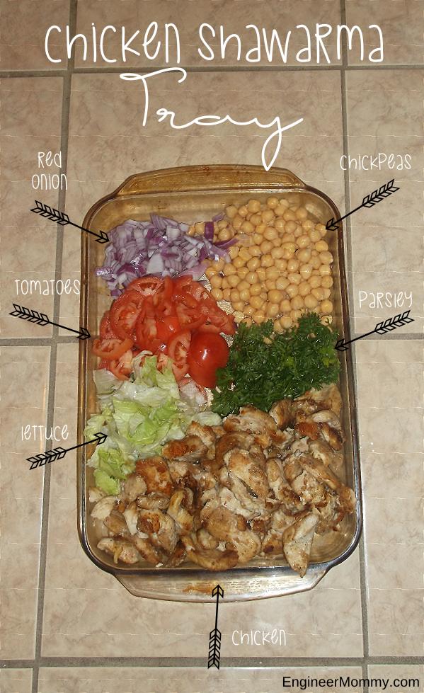 Chicken Shawarma Tray