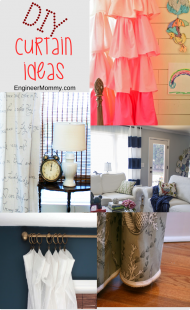 DIY Curtains to Update Your Windows