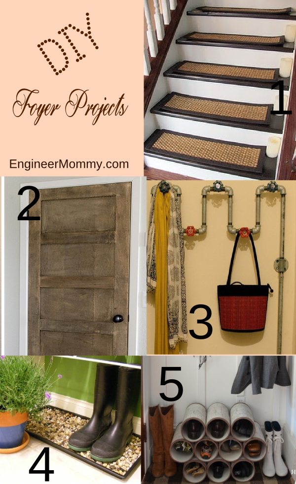 DIY Foyer / Entryway Projects