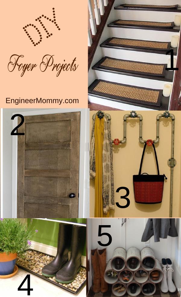 DIY Foyer / Entryway Projects