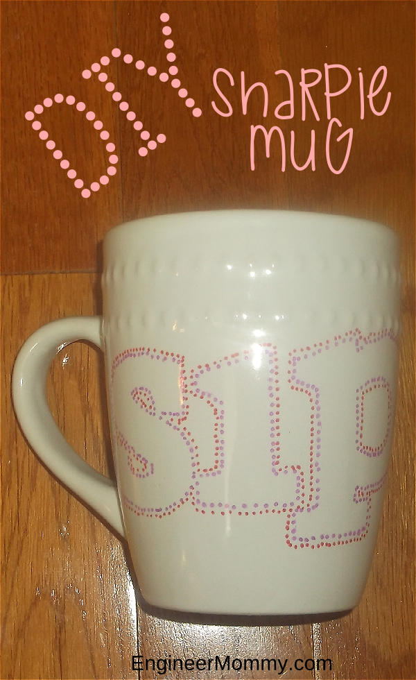 DIY Sharpie Mug
