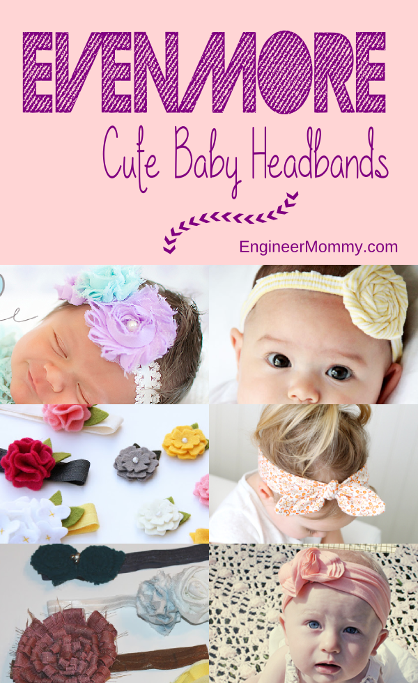 Even More Cute Baby Headbands
