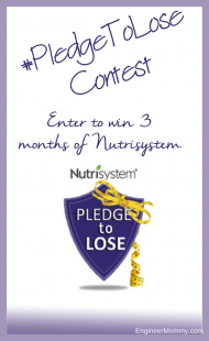 #PledgeToLose weight with Nutrisystem