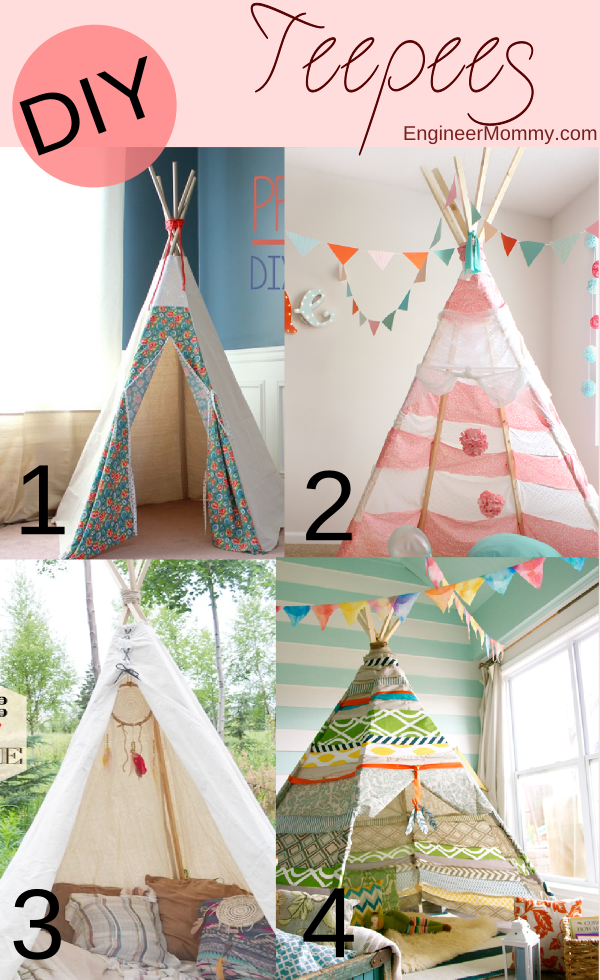 DIY Teepee Tutorials