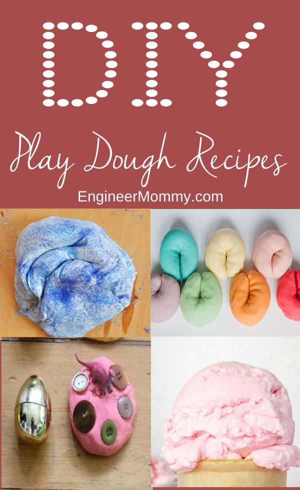 DIY Play Dough Recipes