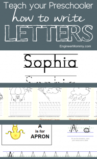 Preschool Skills: Practice Writing Alphabet Letters