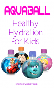 AquaBall: Flavored Water for Kids