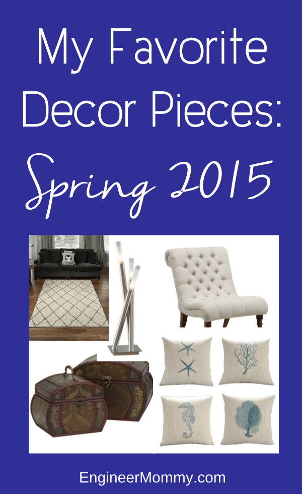 Favorite Decor Pieces: Spring 2015