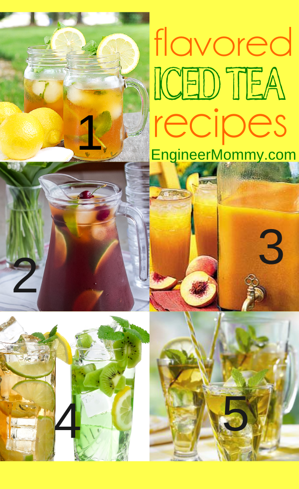 Flavored Iced Tea Recipes