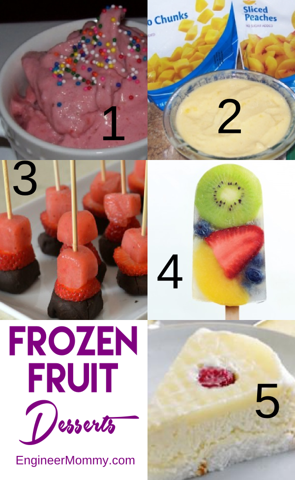 Frozen Fruit Desserts