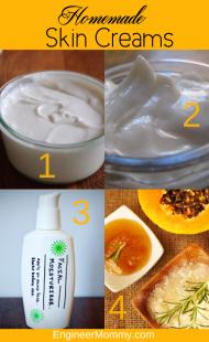 Homemade Skin Creams