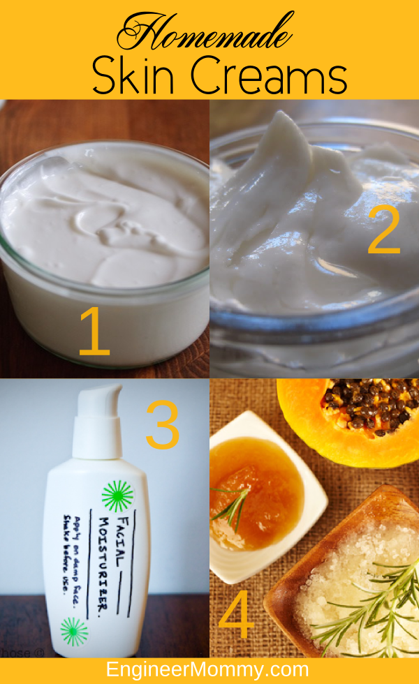 Homemade Skin Creams