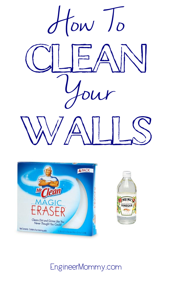 How to Clean your Walls