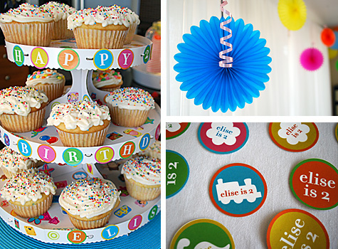 I Had Never Heard Of A Stickers Birthday Party Theme Before But It Sure Look Cool Fun