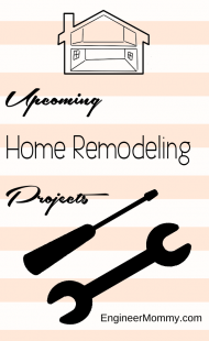 Upcoming Home Remodeling Projects