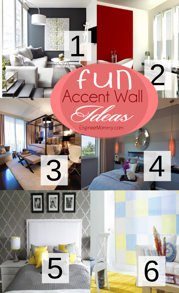 Fun Accent Wall Ideas