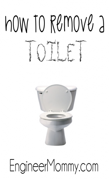 How to Remove a Toilet: Bathroom Remodel Continued