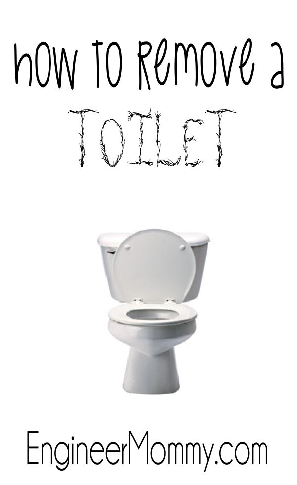 Remove a Toilet