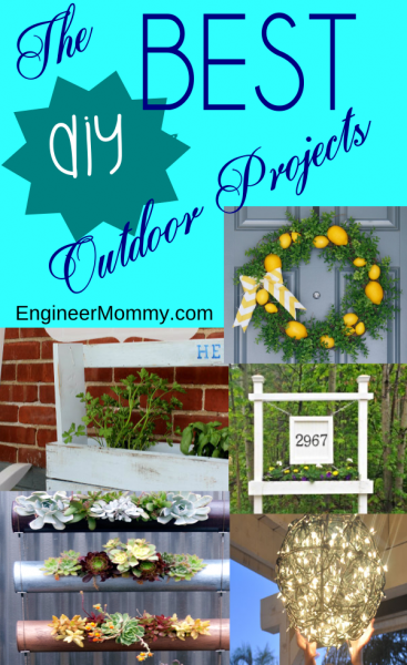 The BEST Outdoor Entertaining DIY Projects