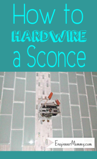 How to Hardwire a Sconce Light Fixture