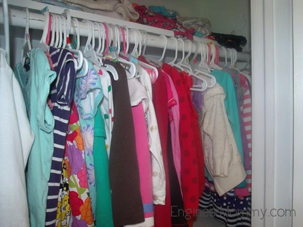 Organize Kid's Clothes