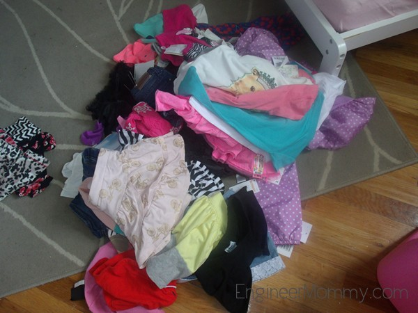 Organize Kid's Clothes