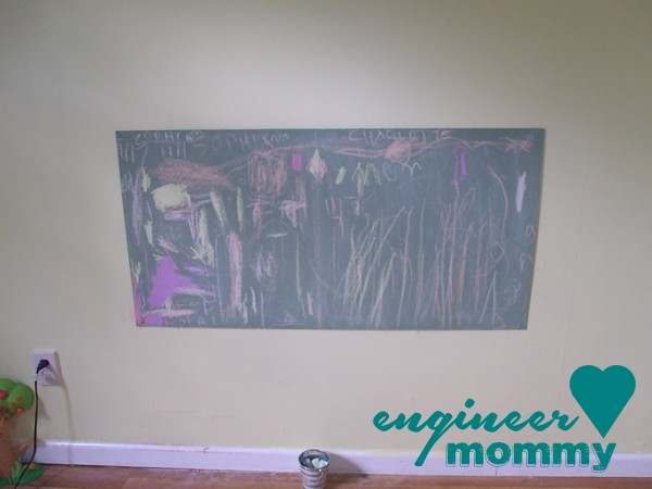 DIY Chalkboard Paint (custom color)