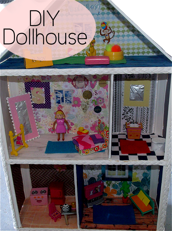 DIY Dollhouse Part 3: Rugs, Furniture and Wall Art