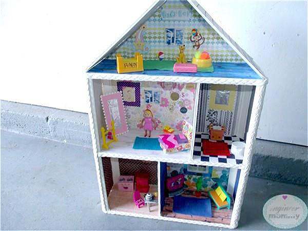 DIY Dollhouse Part 3: Furniture, Windows, Rugs, and More