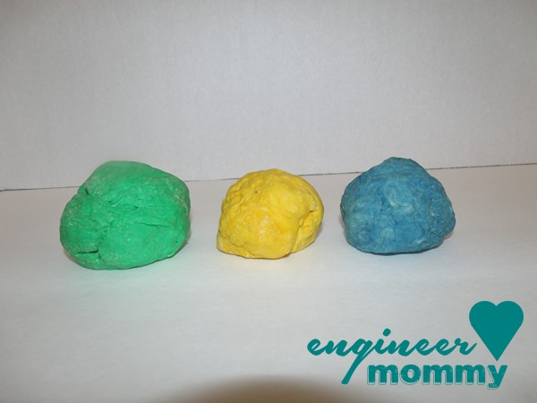 DIY Glitter Play Dough Recipe