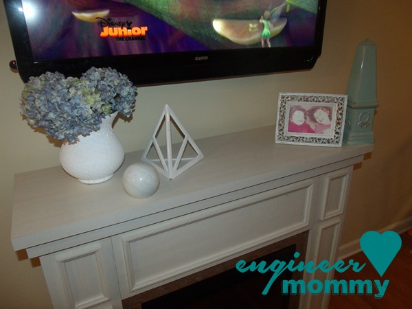How to hide the cable box and the wire, too