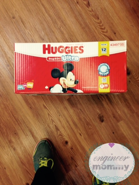 Huggies #UltraHug nomination