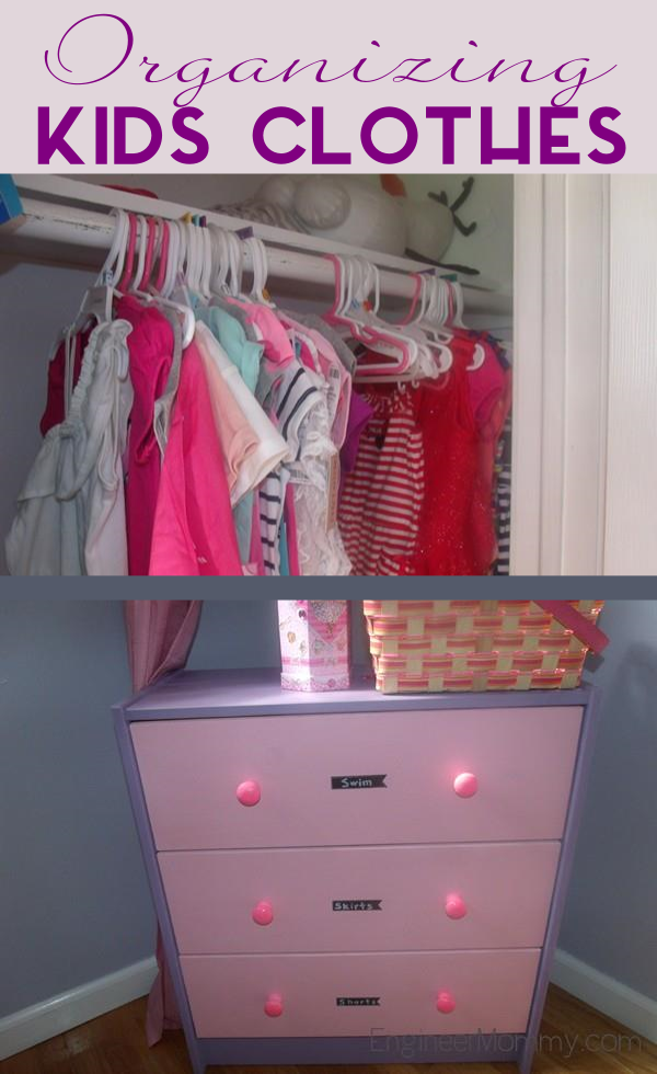 How to Organize a Kid's Clothes Closet