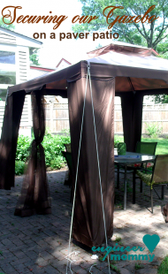 Tips to Secure a Gazebo Canopy on a Paver Patio