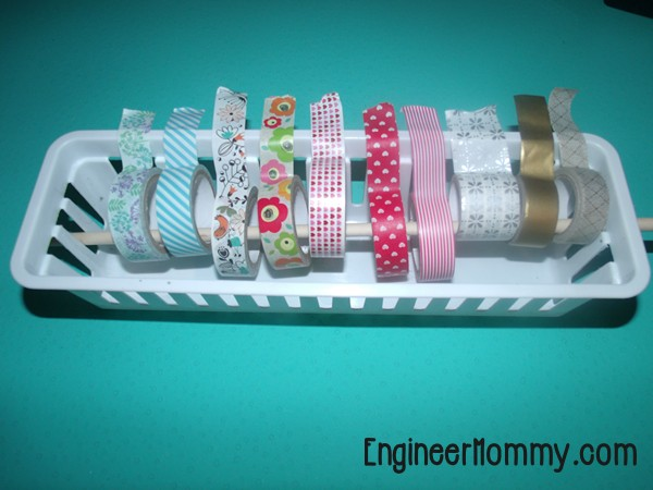 The EASIEST Washi Tape Holder Organizer