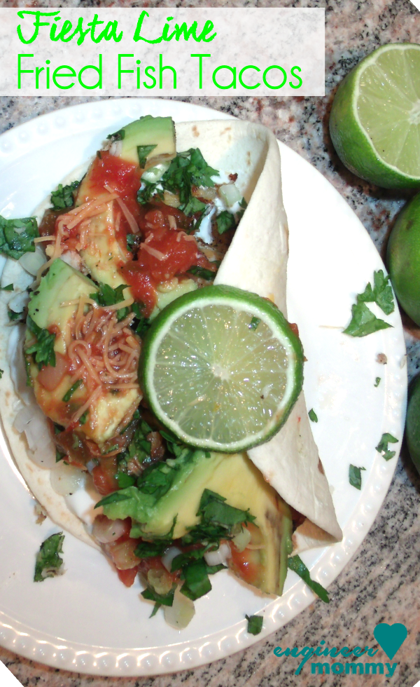 Fiesta Lime Fried Fish Tacos