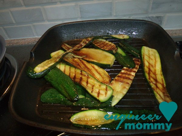 Simply Grilled Balsamic Zucchini