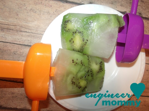Kiwi citrus ice pops