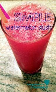 Simple Watermelon Slush Recipe