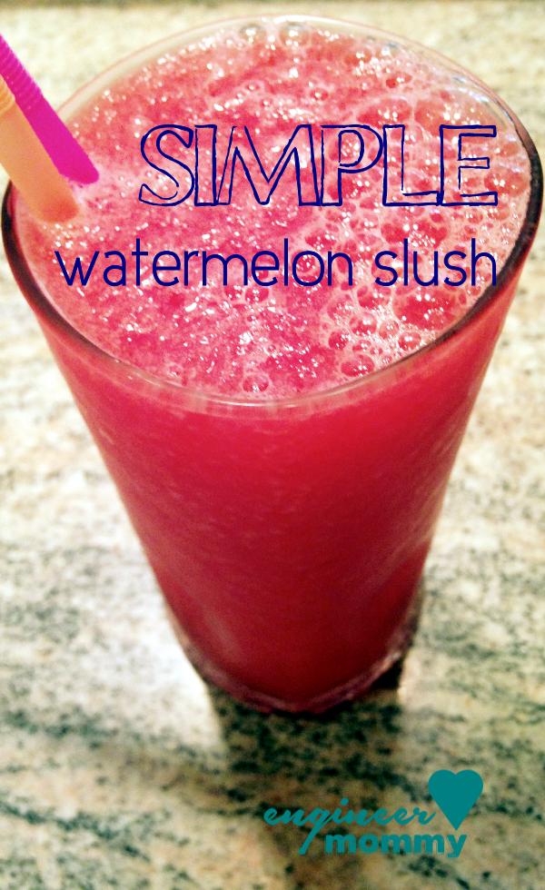 Simple Watermelon Slush Recipe