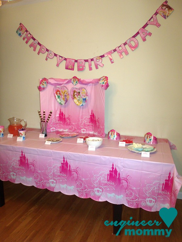 The Best Disney Princess Birthday Party