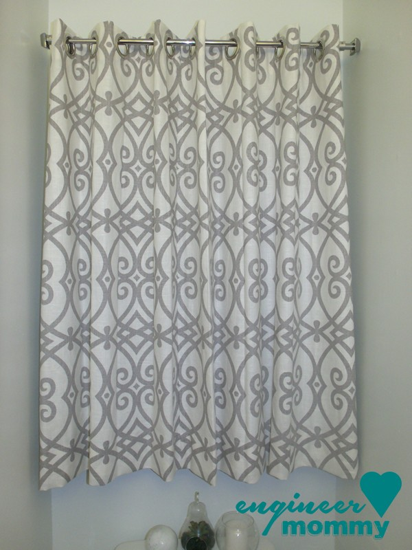Custom Window Treatments: Master Bathroom Upgrade