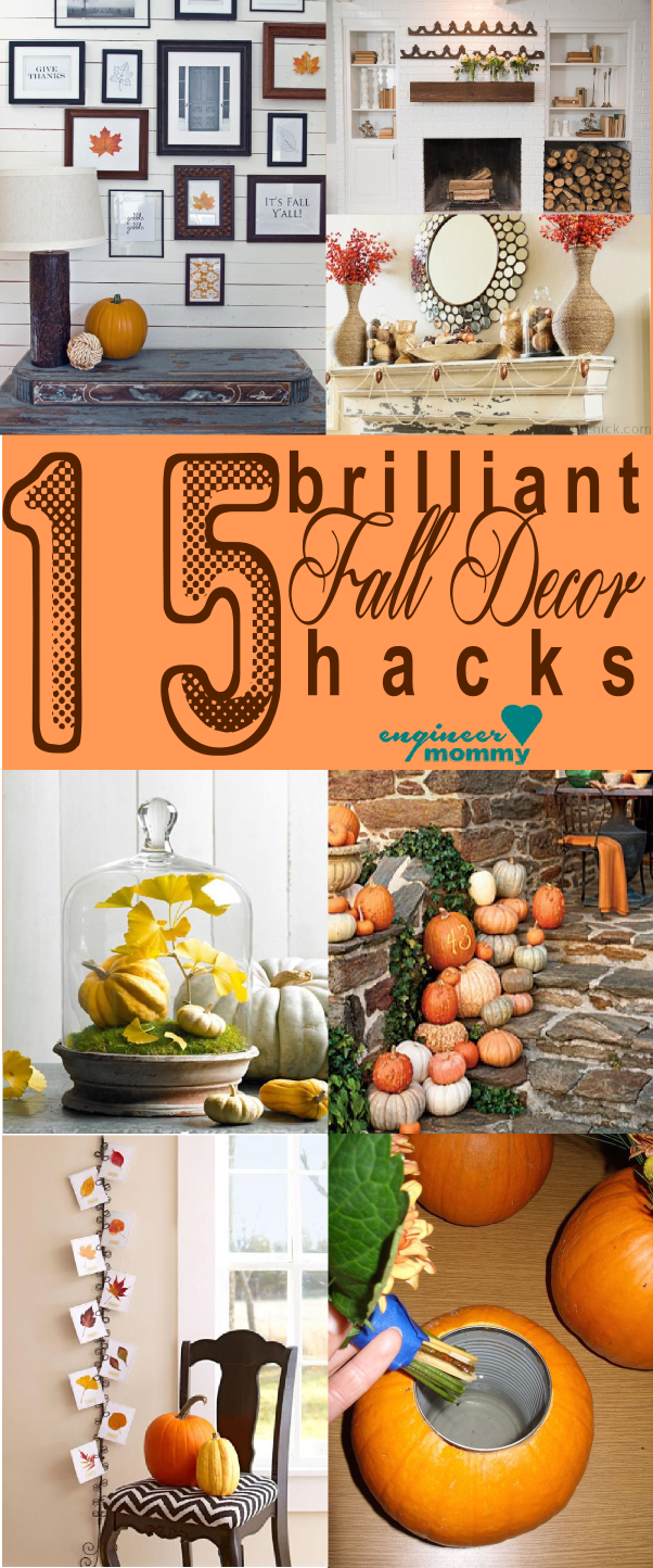 15 Brilliant Fall Decor Hacks
