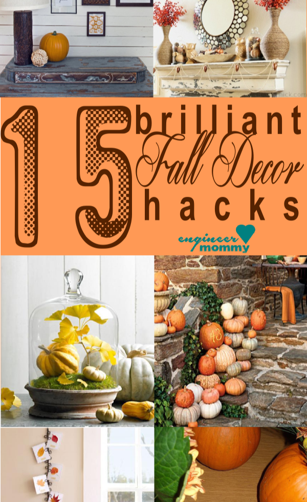 15 Brilliant Fall Decor Hacks