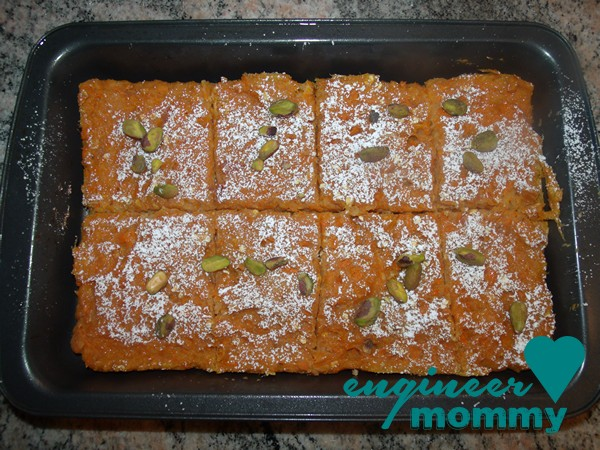 Healthy Carrot Bars Recipe