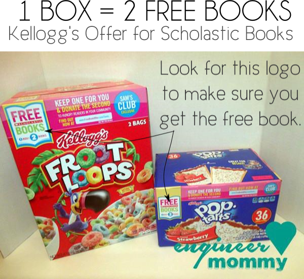 Kellogg's Offer for Scholastic Books