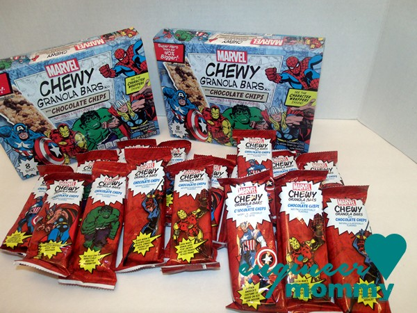 MARVEL Granola Bars